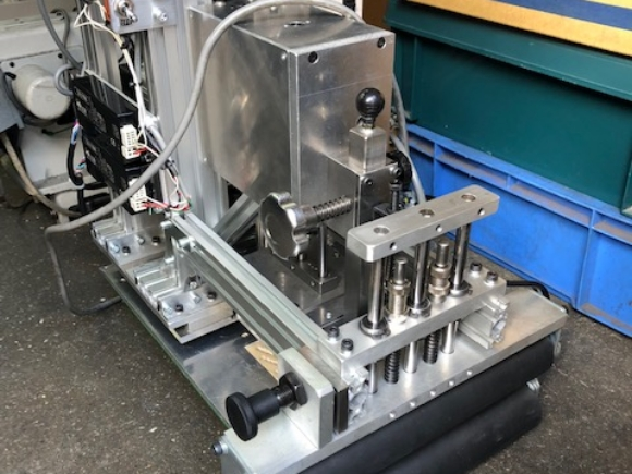 産廃埋立処分場 防水不織布接合装置
